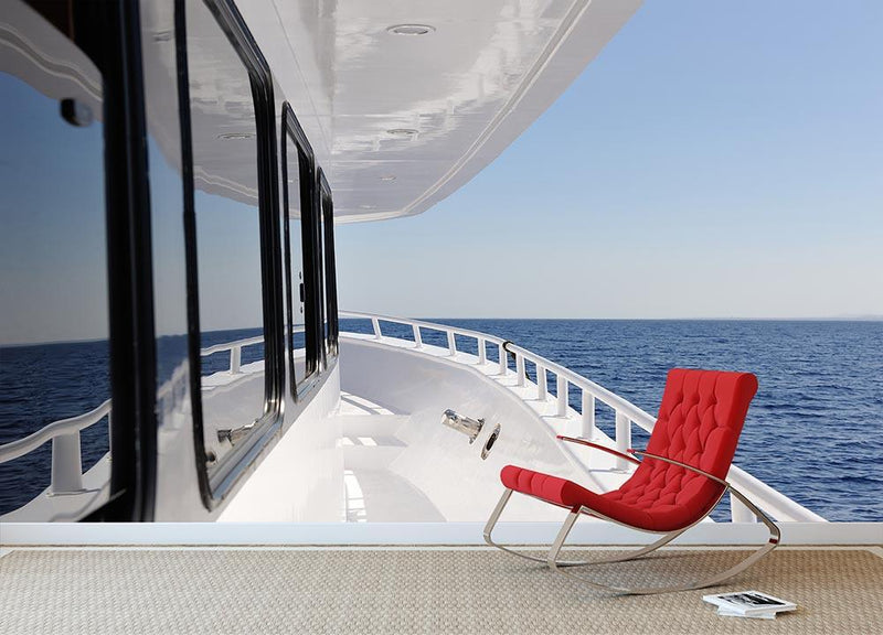 Yacht elements The deck Wall Mural Wallpaper - Canvas Art Rocks - 1