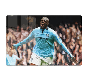 Yaya Toure Celebration HD Metal Print