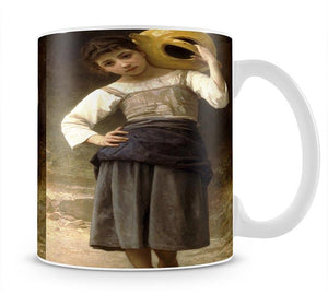 Young Girl Going to the Spring By Bouguereau Mug - Canvas Art Rocks - 1