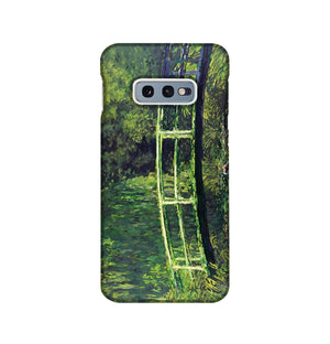 banksy Water Lilies Trash Phone Case Samsung S10e