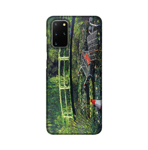 banksy Water Lilies Trash Phone Case Samsung S20 Plus