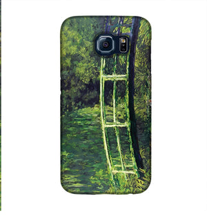 banksy Water Lilies Trash Phone Case Samsung S6