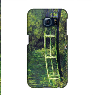 banksy Water Lilies Trash Phone Case Samsung S6 Edge