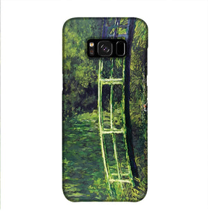banksy Water Lilies Trash Phone Case Samsung S8