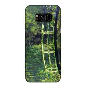 banksy Water Lilies Trash Phone Case Samsung S8 Plus