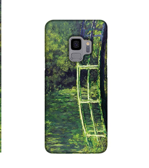 banksy Water Lilies Trash Phone Case Samsung S9