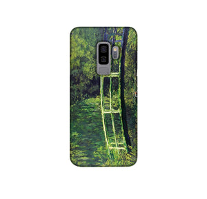 banksy Water Lilies Trash Phone Case Samsung S9 Plus