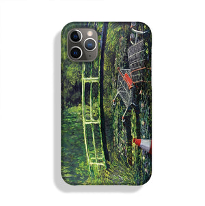 banksy Water Lilies Trash Phone Case iPhone 11 Pro Max