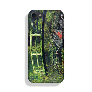 banksy Water Lilies Trash Phone Case iPhone XE