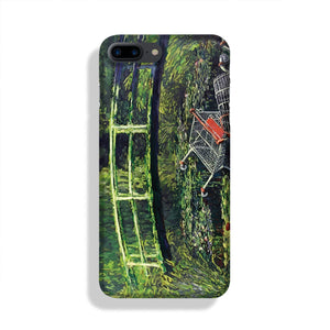 banksy Water Lilies Trash Phone Case iPhone 7/8 Max