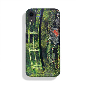 banksy Water Lilies Trash Phone Case iPhone XR