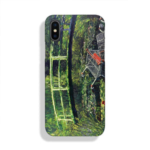 banksy Water Lilies Trash Phone Case iPhone XS Max