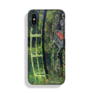 banksy Water Lilies Trash Phone Case iPhone X/XS