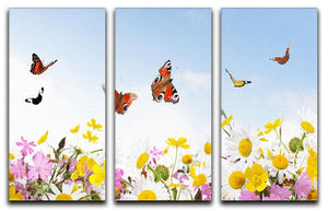 beauty in nature 3 Split Panel Canvas Print - Canvas Art Rocks - 1