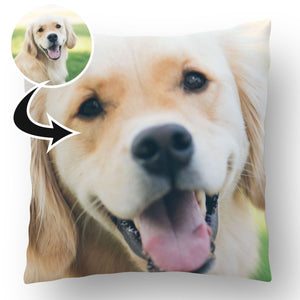 Photo Upload Dog Cushion c