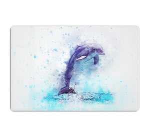 dolphin Painting HD Metal Print