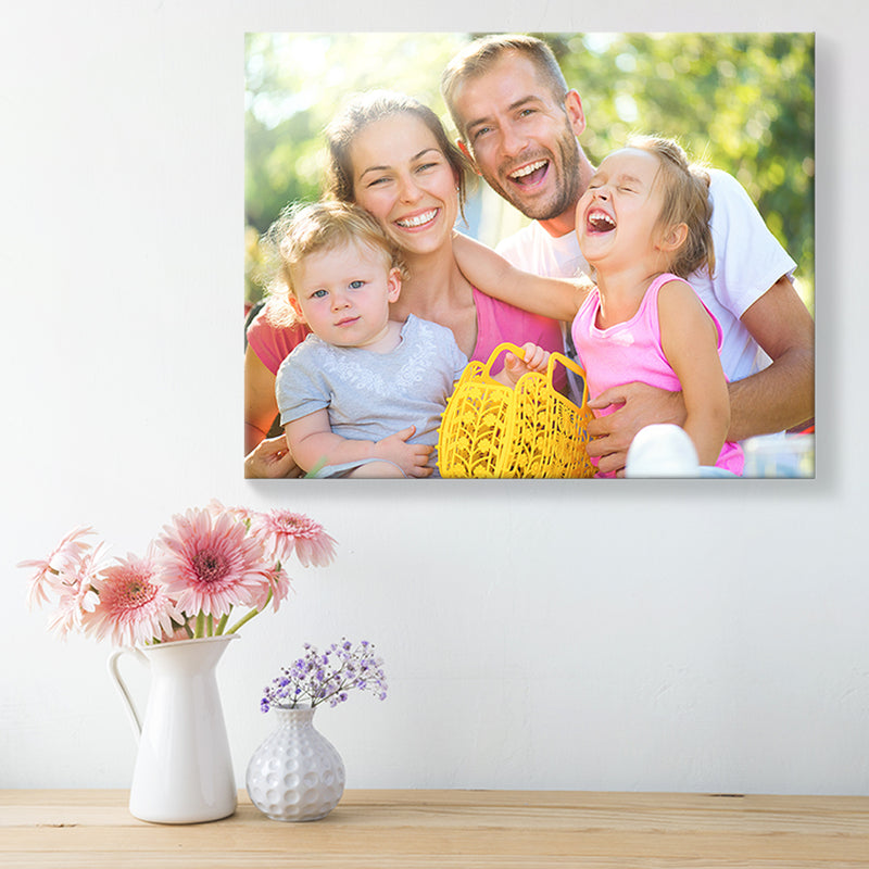 Full Wrap Personalised Photo Canvas