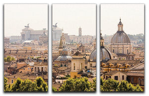 monument and several domes 3 Split Panel Canvas Print - Canvas Art Rocks - 1