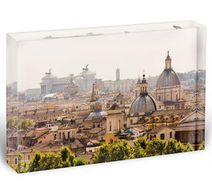 monument and several domes Acrylic Block - Canvas Art Rocks - 1