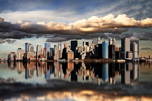 new york city Wall Mural Wallpaper - Canvas Art Rocks - 1