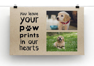 Your Paw Prints Framed Print