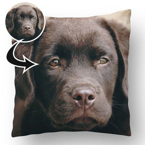 Photo Upload Dog Cushion a