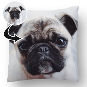 Photo Upload Dog Cushion d