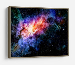 starry deep outer space nebula and galaxy HD Metal Print
