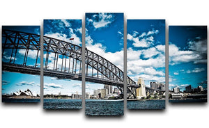 the bridge 5 Split Panel Canvas  - Canvas Art Rocks - 1