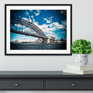 the bridge Framed Print - Canvas Art Rocks - 1