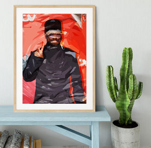 will I am Pop Art Framed Print - Canvas Art Rocks - 3