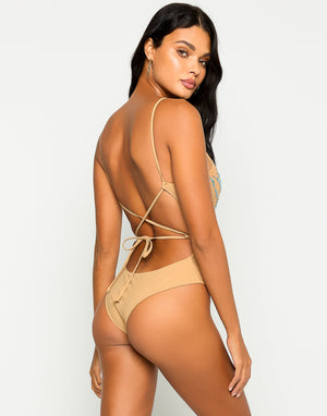 Nala One Piece in Sapphire with Beads and Sequins - Back View  ?id=16856306843779