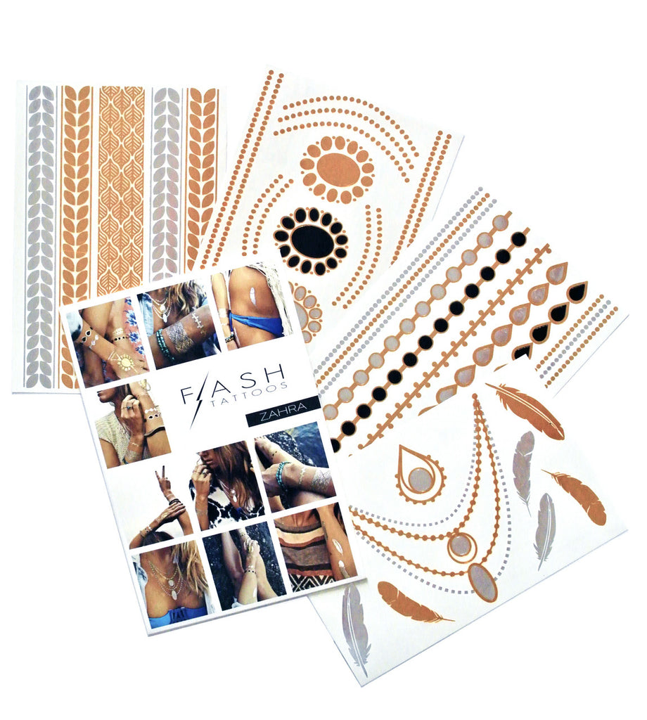 Flash Tattoos - Zahra