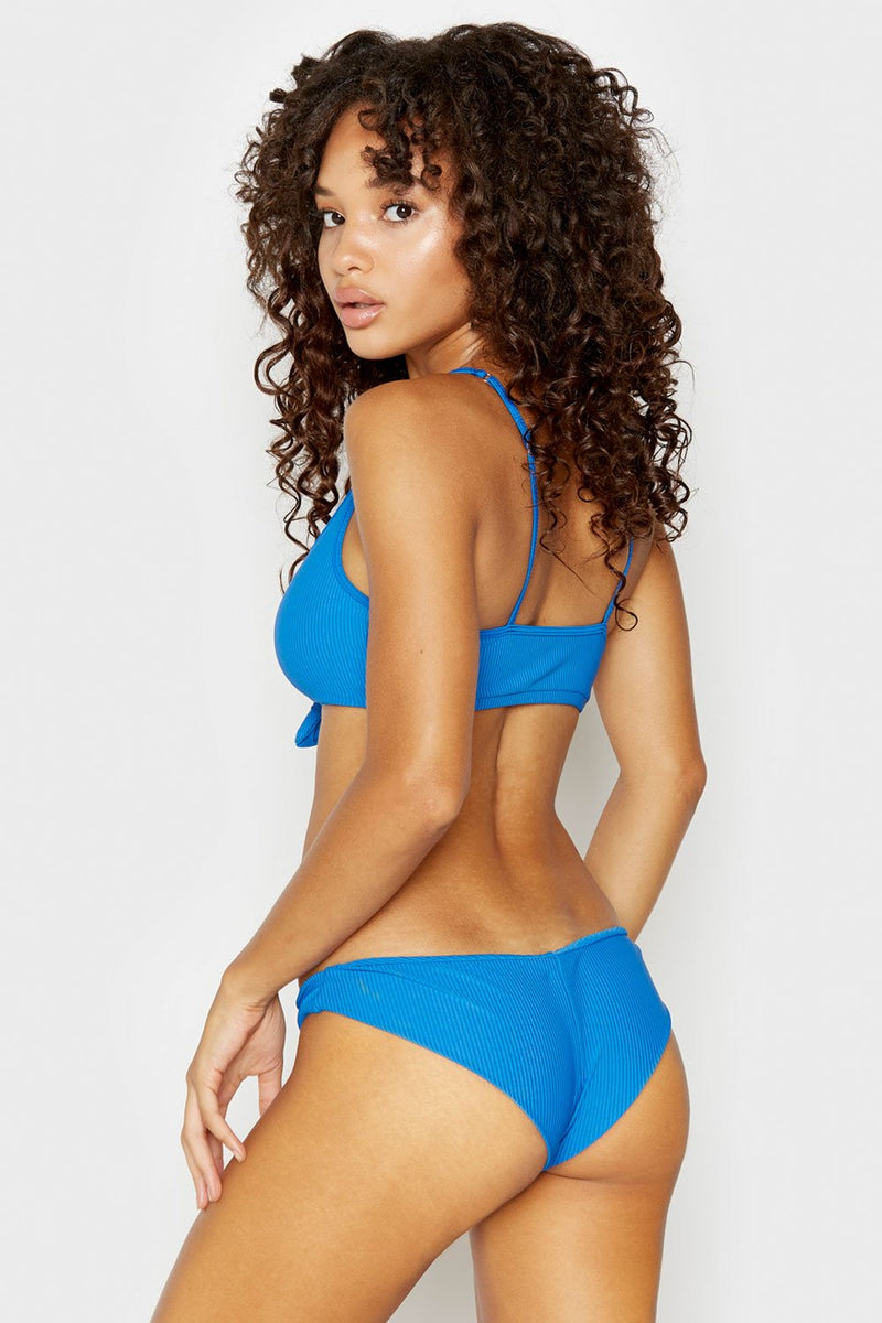 Greer Ribbed Bottom in Cobalt