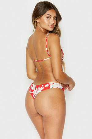 Marina Bottom in Azalea Print