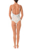 Aqua Leaf Scoop One Piece