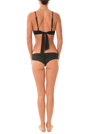 Greenlee Swim Black Euro Short