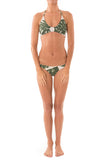 Greenlee Swim Green Leaf Cheeky Brief