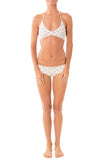 Greenlee Swim Euro Short in White Lotus