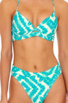 Mermaid Wishes High Leg Banded Waist Bottom