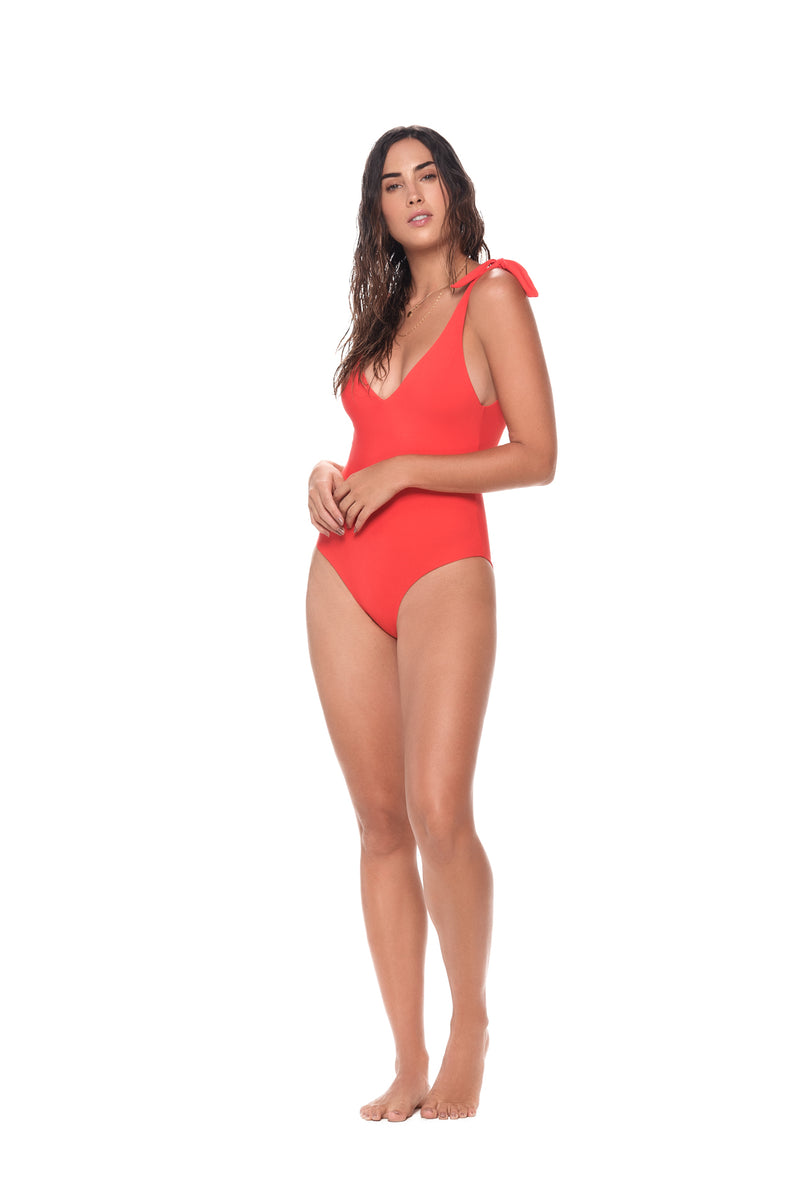 Morocco Red Lightup One Piece