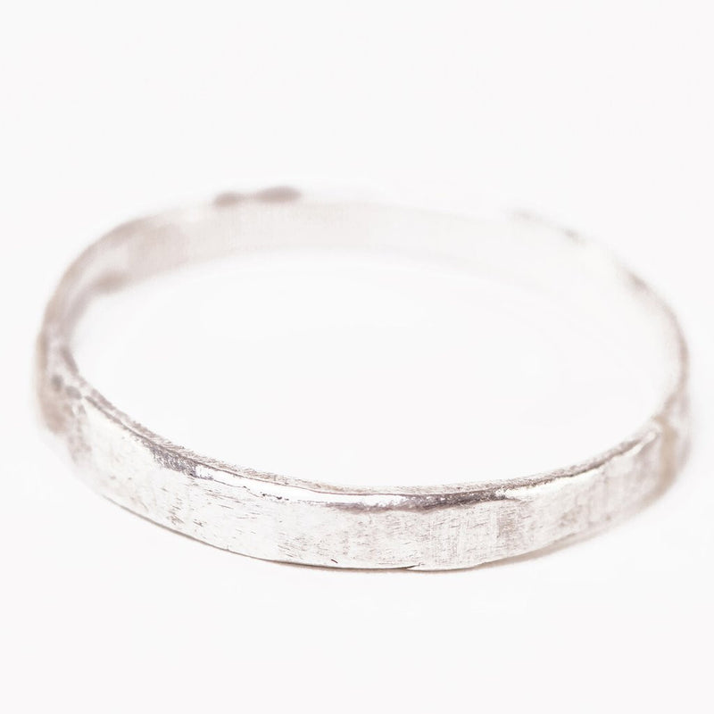 Handmade Sterling Silver Band Ring