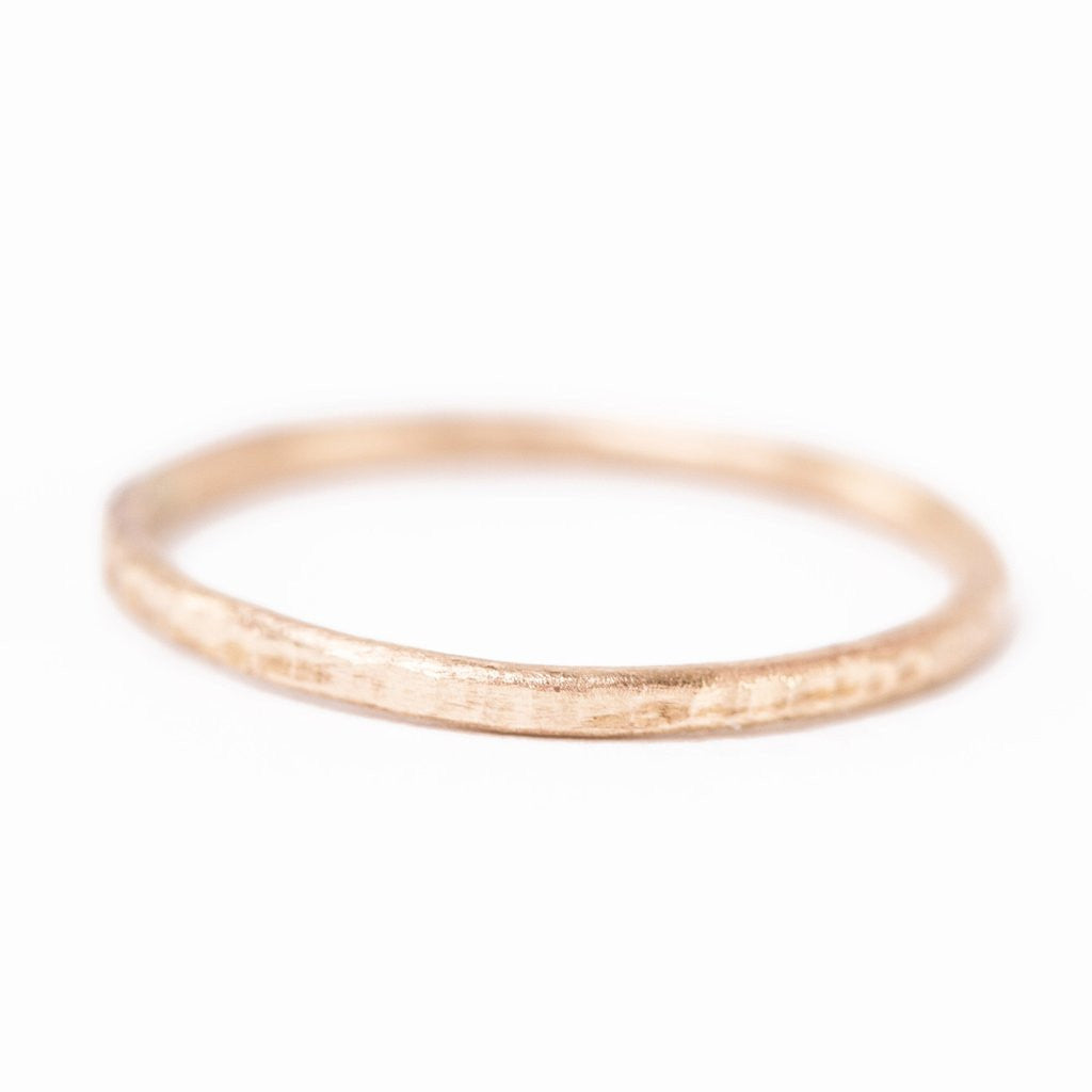Handmade Gold Filled Band Ring