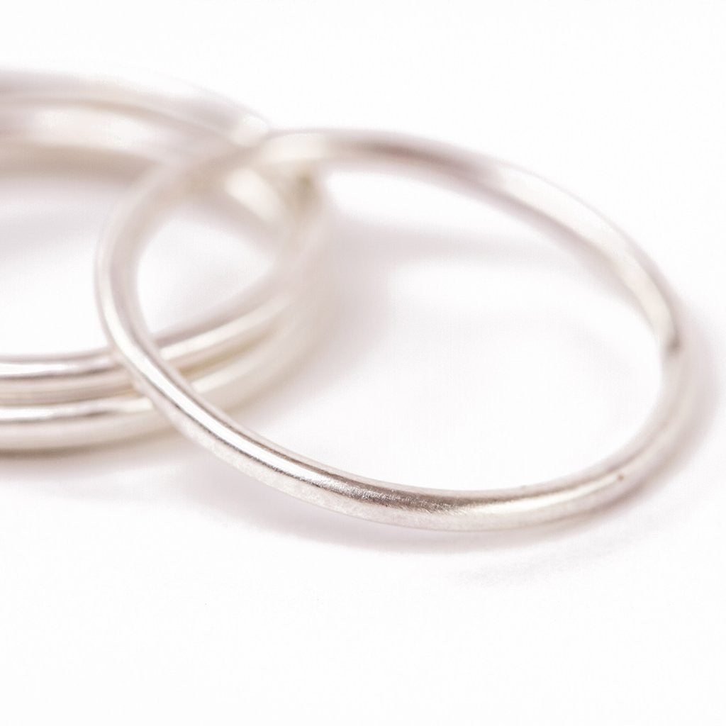 Handmade Sterling Silver Band Rings