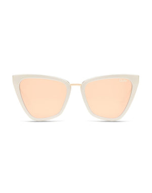 Reina Sunglasses - Pearl/Rose