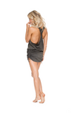 Havana Nights T-back Mini Dress