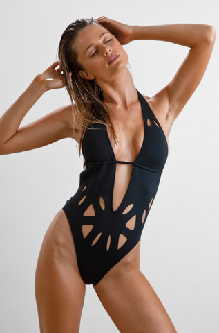 Avry One Piece in Black