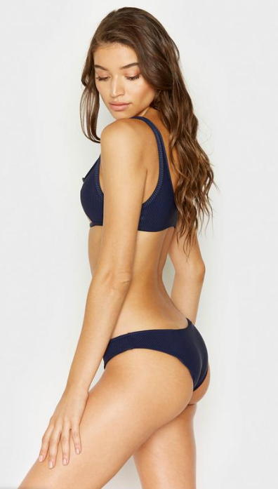 Hanalei Ribbed Bottom in Navy
