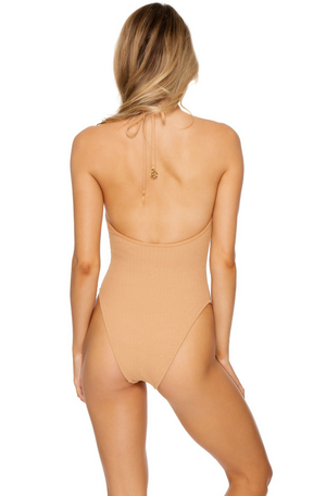 Jagged Bombshell One Piece Bodysuit