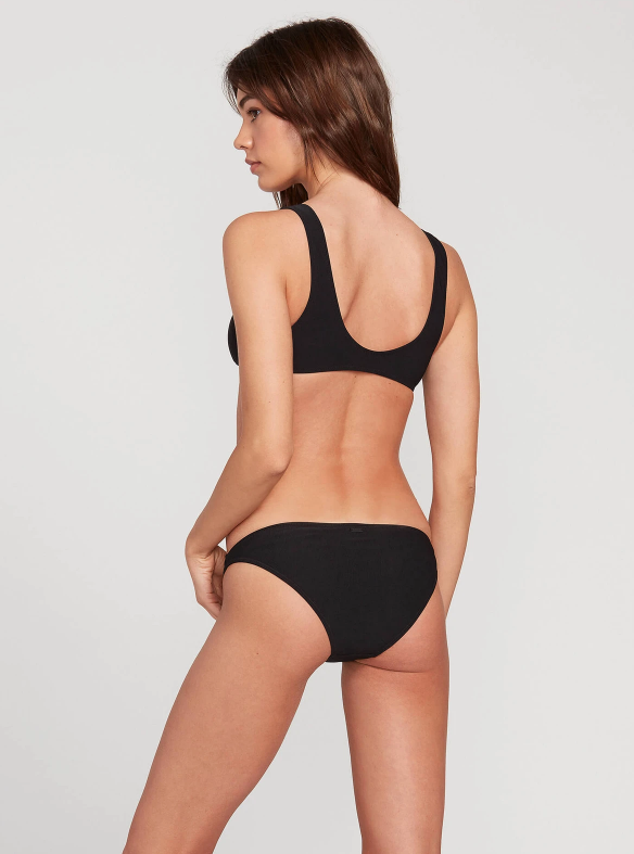 Simply Mesh Hipster Bottom in Black